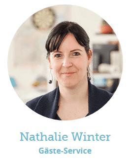 Portrait der Mitarbeiterin Natalie