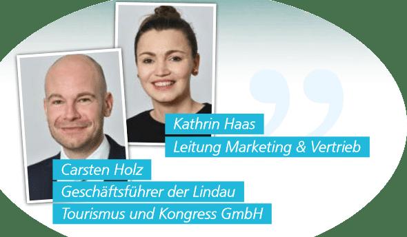 Tourismus und Kongress GmbH Lindau Interviewpartner