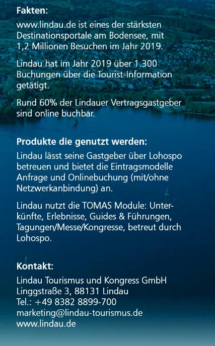Zahlen und Fakten über Lindau am Bodensee