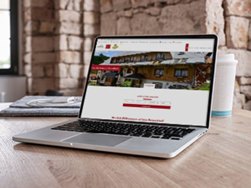 Die TWebsite für Gastgeber